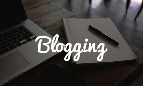 I WANT TO START BLOGGING, NOW WHAT?