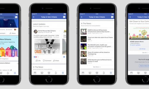 Facebook`s Testing a New Local News and Events Section to Prompt Civic Engagement